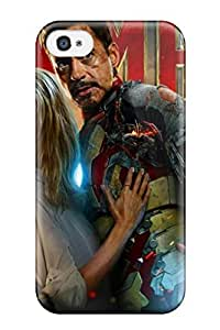 Faddish Phone Iron Man Case For Iphone 4/4s / Perfect Case Cover