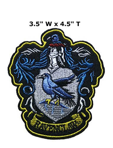 Application Classic Harry Potter House Ravenclaw Cosplay Badge Embroidered Iron Or Sewn-On Applique Patch