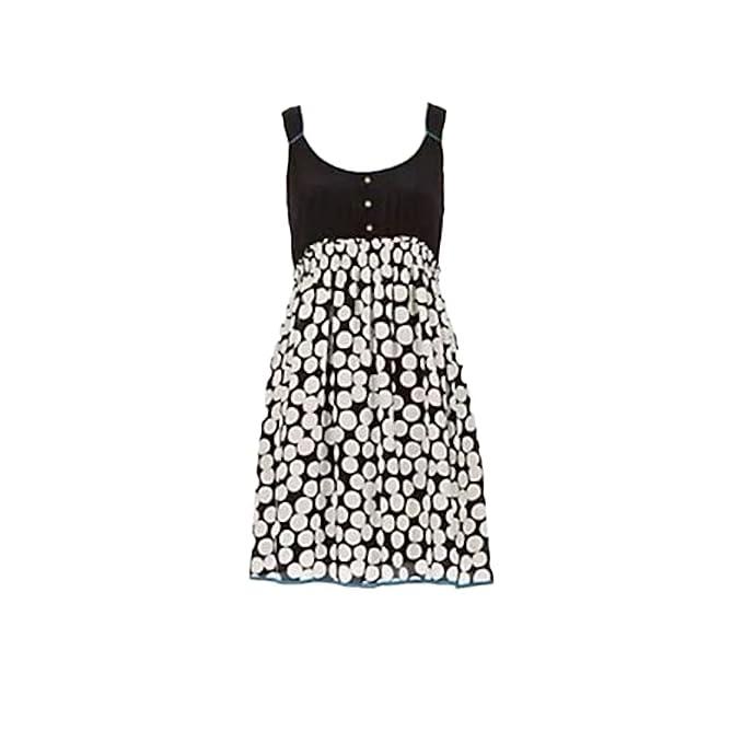 Anthropologie Florea Polka Dot Size 6 P at Amazon Womens Clothing store: