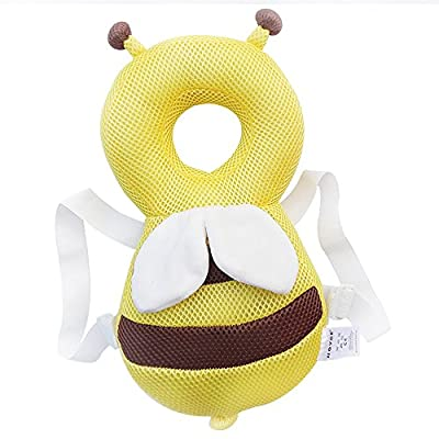 Echo Paths Ajustable Head and Shoulder Protector?Safy Infant Pad?Head Cushion with Flexible Strap for Baby's Safty 4-24 Month