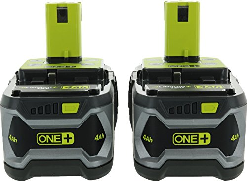 Ryobi P122 4AH One+ High Capacity Lithium Ion Batteries For Ryobi Power Tools (2 Pack of P108 Batteries) by Ryobi (Image #1)