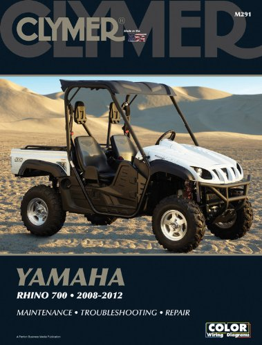 Yamaha Rhino 700 2008-2012 (Clymer Color Wiring Diagrams ... on