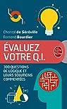 Evaluez votre Q.I. (Nouvelle édition) par Chantal Séréville (de)