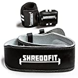 ShreddFit Weight Lifting Belts (Black, X-Large) For Sale