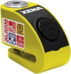 Xena XZZ6L Alarm Disc Lock - Yellow