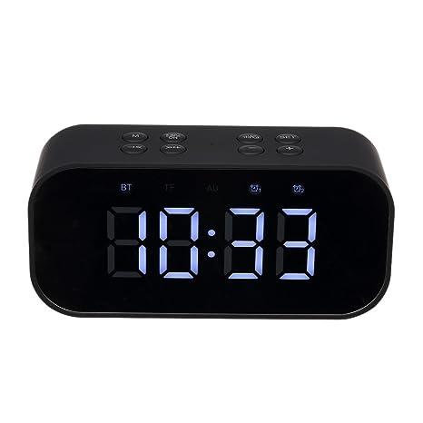 82260ccf7b1 Festnight AEC Portable Bluetooth Speaker Alarm Clock  Amazon.in  Electronics