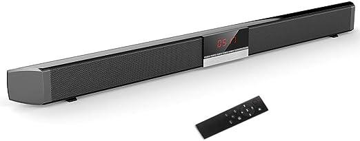 DBGS Altavoces del Televisor En Casa Envolvente Sonido, Audio Inalámbricos Bluetooth Inalámbrico con Pantalla LED, Una Función De Subwoofer para Ordenador, TV: Amazon.es: Hogar