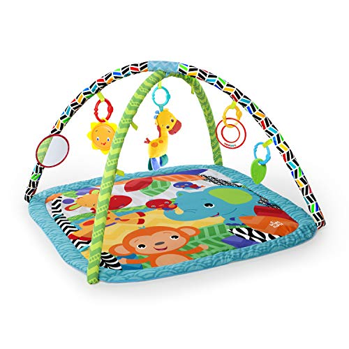 Bright Starts Zippy Zoo Activity Gym (Best Baby Gym Mat)