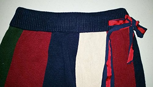 Upcycled Women's Sweater Skirt, Ladies Large, Red White and Blue, Repurposed Skirt, Upcycled Skirt, Ready to Ship, Size Large