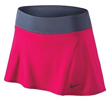 Nike camiseta de tenis falda gris/rosa 620842 - 691 grande: Amazon ...