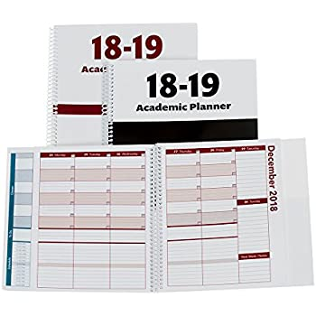 2018 2019 academic planner a tool for time management best weekly monthly student planner for keeping students on track on task on time size 85x825