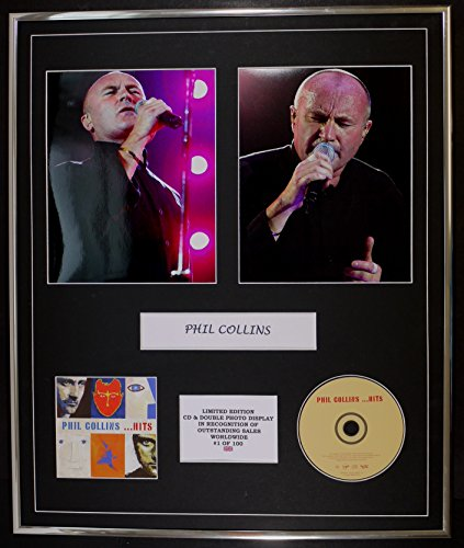 Price comparison product image PHIL COLLINS / CD & DOUBLE PHOTO DISPLAY / LTD. EDITION / COA / HITS