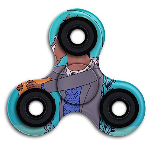 Bojack Horseman Tri-Spinner Hand Spinner 2-5 Minutes Stress Reducer Relieve Anxiety And Boredom Double-sided Print For Kids And Adults - Bojack Horseman Costume