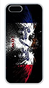 iPhone 5S Case Eagles Hawk Flags Usa Iowa State HAC1014207 PC Hard Plastic Case for iPhone 5/5S Whtie