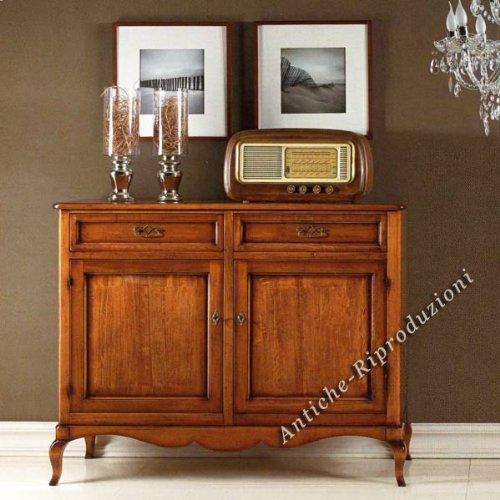 Möbel Buffet, Buffetschrank, Küchenbuffet cm 145x50, h 115, Holz, Klassisch, Italienischer Produktion
