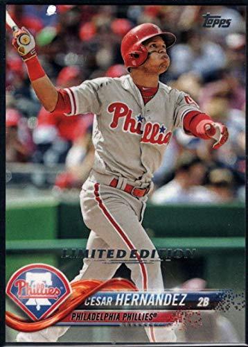 Baseball MLB 2018 Topps Limited #26 Cesar Hernandez Phillies