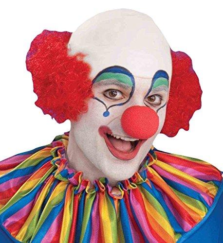 Forum Novelties Unisex Baldy The Clown Red (Clown Wig)