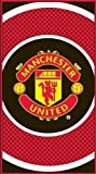 Manchester United Fc 'Bullseye' Football Printed Official Beach Towel New Gift Home Product