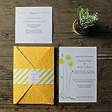 Wedding Invitations Set - 50 Pcs (Invitations Set)