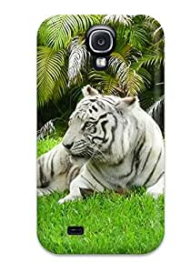 Perfect White Bengal Tiger Case Cover Skin For Galaxy S4 Phone Case