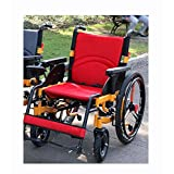Electric Wheelchair Folding Portable Intelligent Automatic Lightweight Elderly Mobility Scooter Wheelchair Accessory,Red
