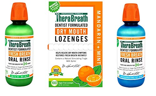 Dentist Formulated Mouth Washes & Lozenges