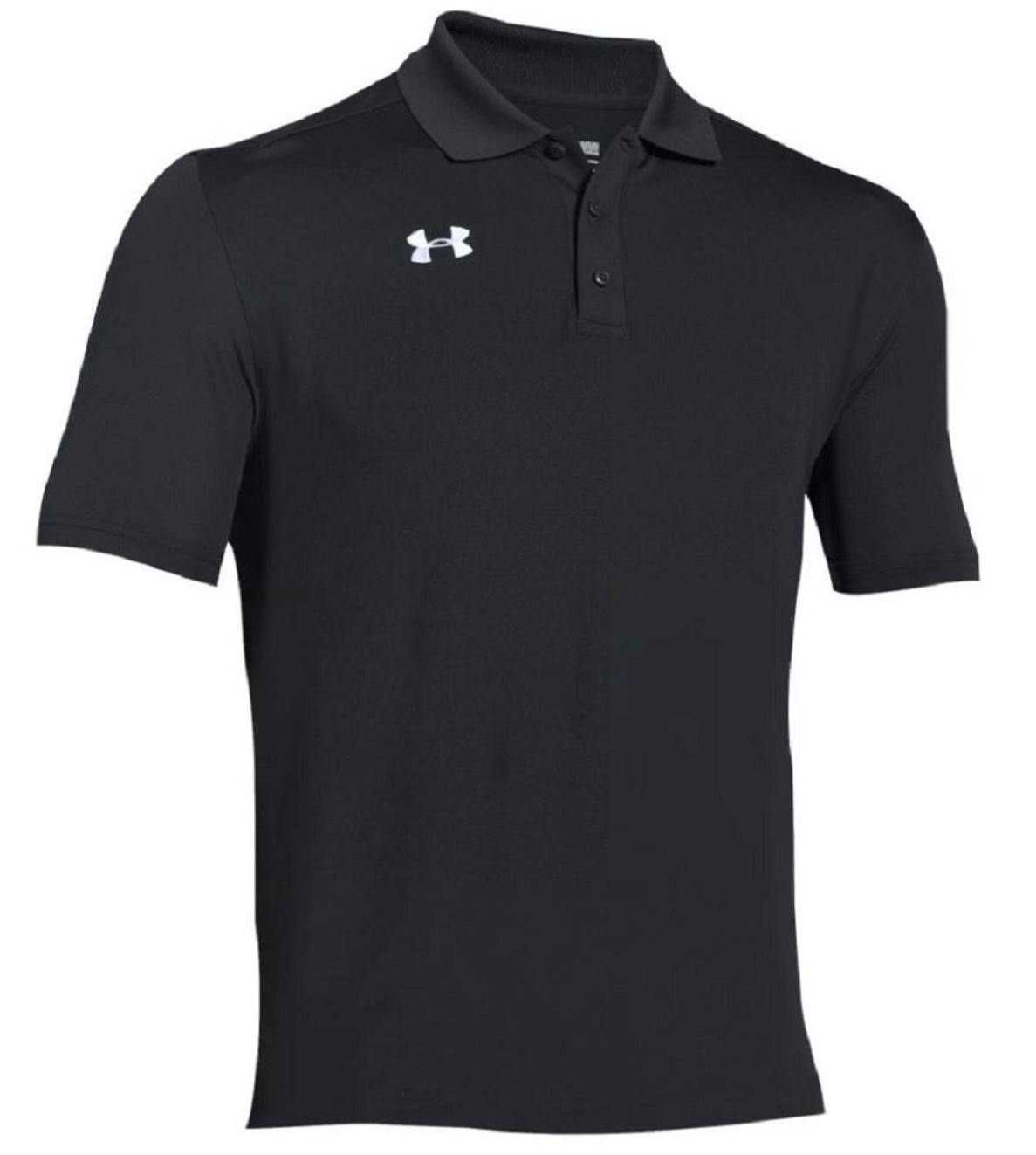 Under Armour Team Armour Men's Golf Polo (Black, Medium) by Under Armour (Image #1)
