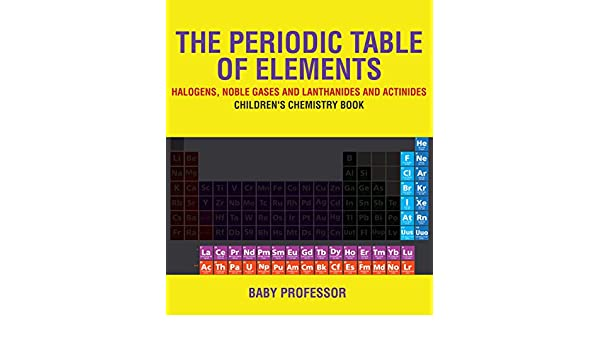 Amazon The Periodic Table Of Elements Halogens Noble Gases