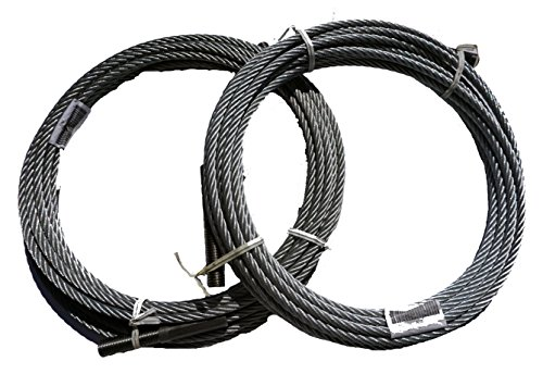 Set of (2) Rotary Lift SPO12 Equalizer Cable #N39 Fits SPO12-10