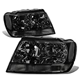 Jeep Grand Cherokee Headlight Lamps Kit (Smoke Lens) - WJ