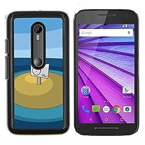 Caucho caso de Shell duro de la cubierta de accesorios de protección BY RAYDREAMMM - Motorola MOTO G3 3rd Gen - Tú estás aquí