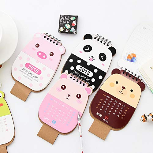 Best Quality - Planners - Planner Stickers Organizador Cartoon Animals Mini Notebook Diary Pocket Notepad Promotional Gift Stationery Fod 2018 Calendar - by chipsua - 1 PCs