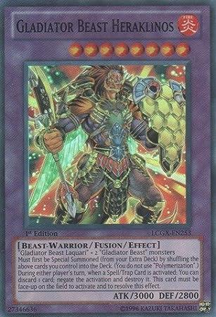 LCGX-EN223 Gladiator Beast Andal Common UNL Edition Mint YuGiOh Card