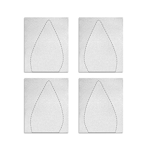 DGQ Sole Sticker Crystal Clear Shoe Bottoms Sole Protector - 4 Packs