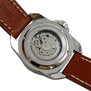 Whatswatch 45mm parnis black dial date 21 Jewels miyota automatic movement mens watch PA-01162