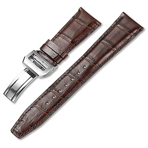 iStrap Genuine Leather Watch Band Strap fit for IWC Pilot's Watchs 20mm 21mm 22mm Replacement Bracelet