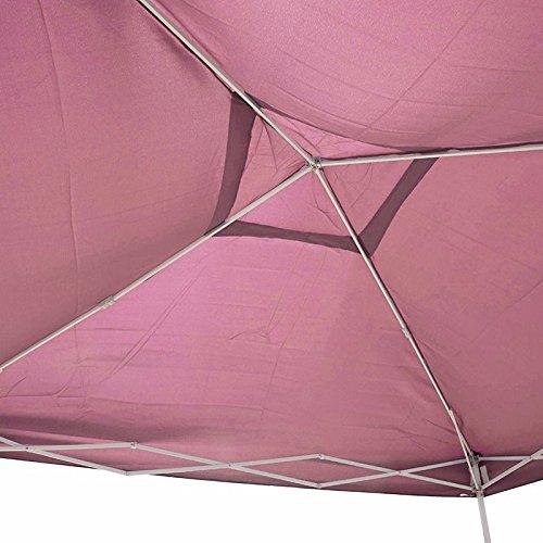 Generic QY*US4*160215*196 *8**1352** Gazebo Beach Ft EZ UP Party Tent Folding 10 X10 10 X10 Ft EZ POP Party T White Blue Color:Random :Random Canopy Carry Bag Blue Color:Random