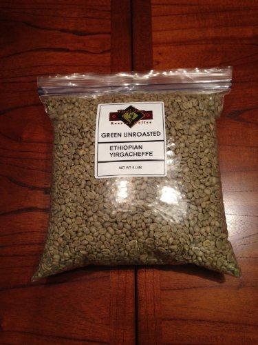 Ethiopia Yirgacheffe Unroasted Green Coffee Beans