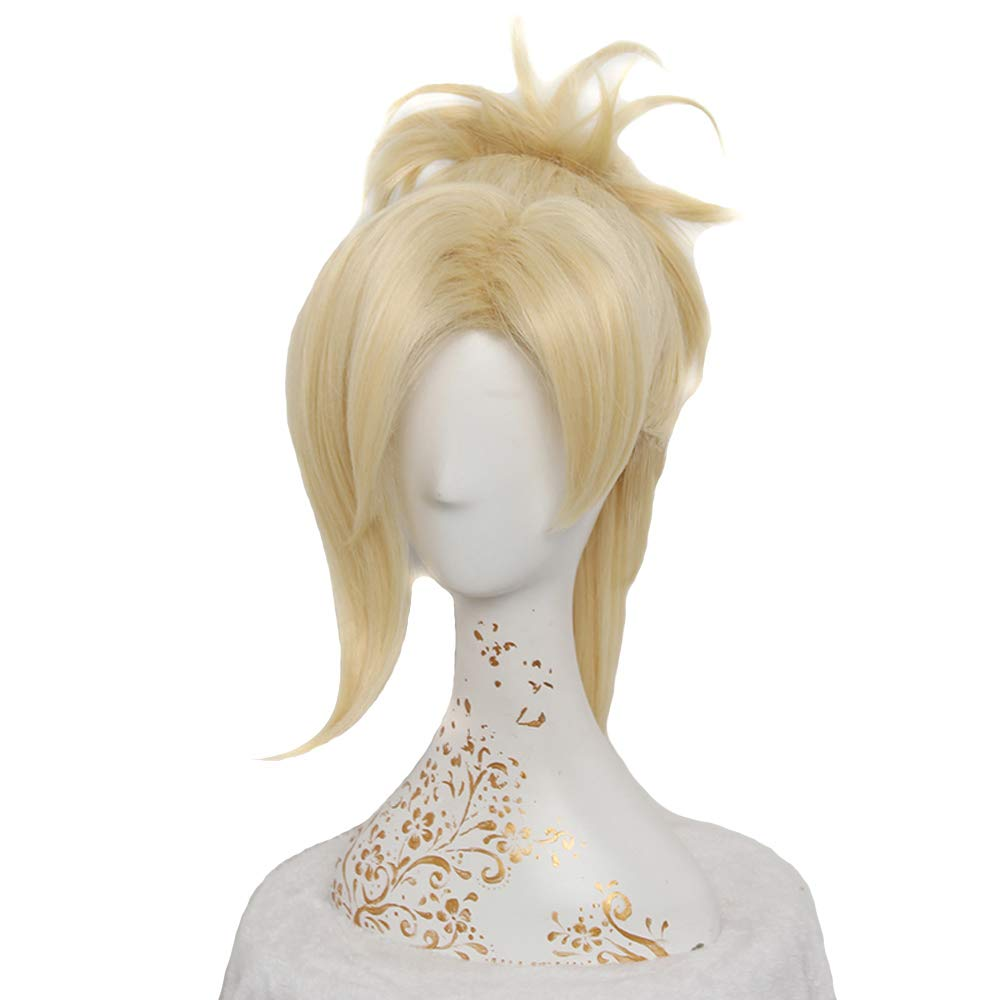 Women's Fashion Short Blonde Cosplay Wigs for Game