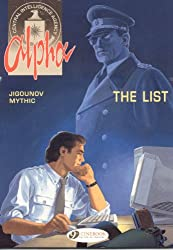 Alpha Vol.3: The List (Alpha (Cinebook))
