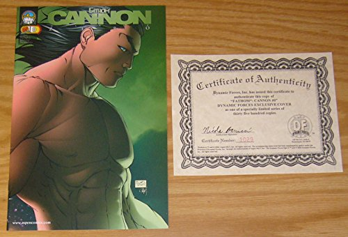 Michael Turner's Fathom: Cannon Hawke #0 VF/NM Dynamic Forces variant w/ COA (#1029 of 3500) ; Aspen