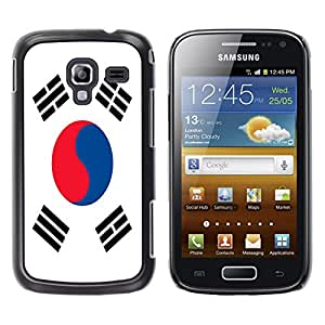 - Flag - - Hard Plastic Protective Aluminum Back Case Skin Cover FOR Samsung GALAXY Ace 2 I8160 Queen Pattern