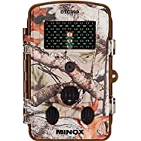 MINOX DTC 390 Wildkamera Camouflage – Kompakte Beobachtungs- und Überwachungskamera in Camouflage-Optik für bis zu 12 MP Bildaufnahmen und HD-Videoaufnahmen – Komfortable Display-Bildwiedergabe