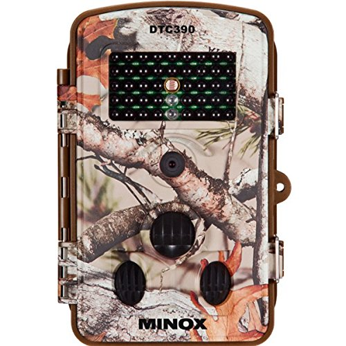 Minox DTC 390Compacto cámara de Vida Silvestre–Resistente a la Intemperie–Cámara de vigilancia con Monitor...