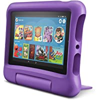 "All-New Fire 7 Kids Edition Tablet, 7"" Display, 16 GB, Purple Kid-Proof Case"