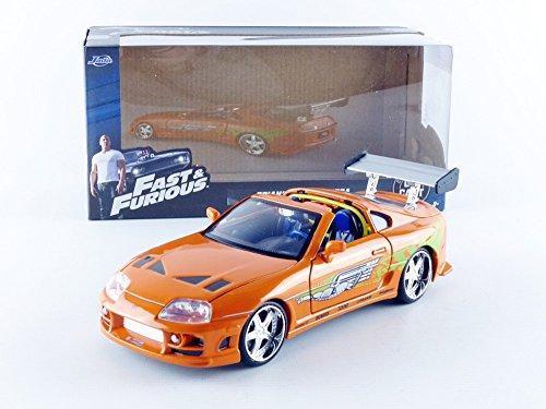 Jada Toys Fast /& Furious 1 24 Diecast Toyota Supra Vehicle