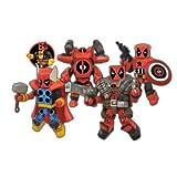 Diamond Select Toys Marvel Minimates Deadpools Assemble Box Set