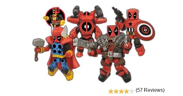 Diamond Select Toys Marvel Minimates Deadpool Assemble Box Set: Toy: Amazon.es: Juguetes y juegos