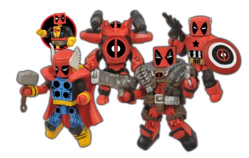 Diamond Select Toys - Marvel Minimates Series Deadpool Assemble Box Set - Multi AUG128354