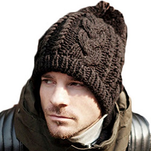 THENICE-mens-Hip-Hop-knitted-Hemp-hair-ball-Beanie-Hats-Men-Skull-Cap